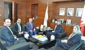 Bahrain Bourse and Tamkeen Discuss Developments of BIM