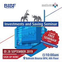 Investment & Saving Seminar